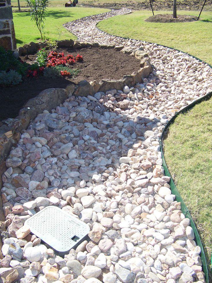Best 20 river rock landscaping ideas on pinterest river for River rock ideas