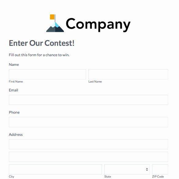 Free Printable Contest Entry Form Template Fresh Eventbrite Alternative Simple Event Management Templates Microsoft Word Templates Book Template