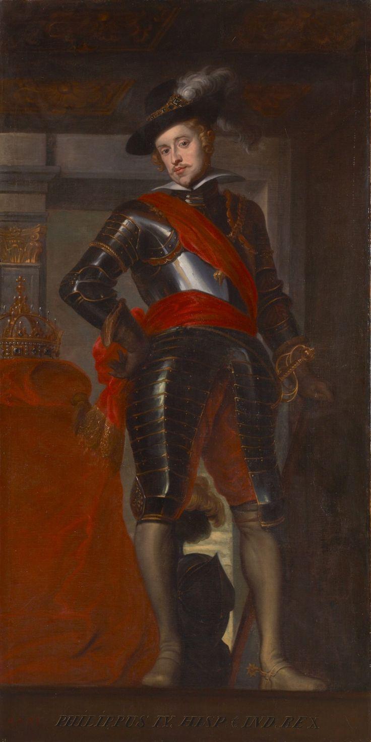 Philip IV of Spain by Caspar de Crayer. 17th c. Oil on canvas. 257.0 x 129.5 cm
