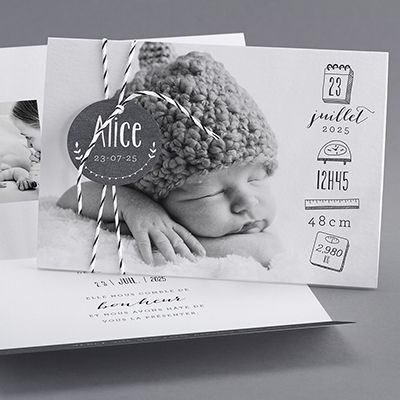 Birth Announcement / Alice