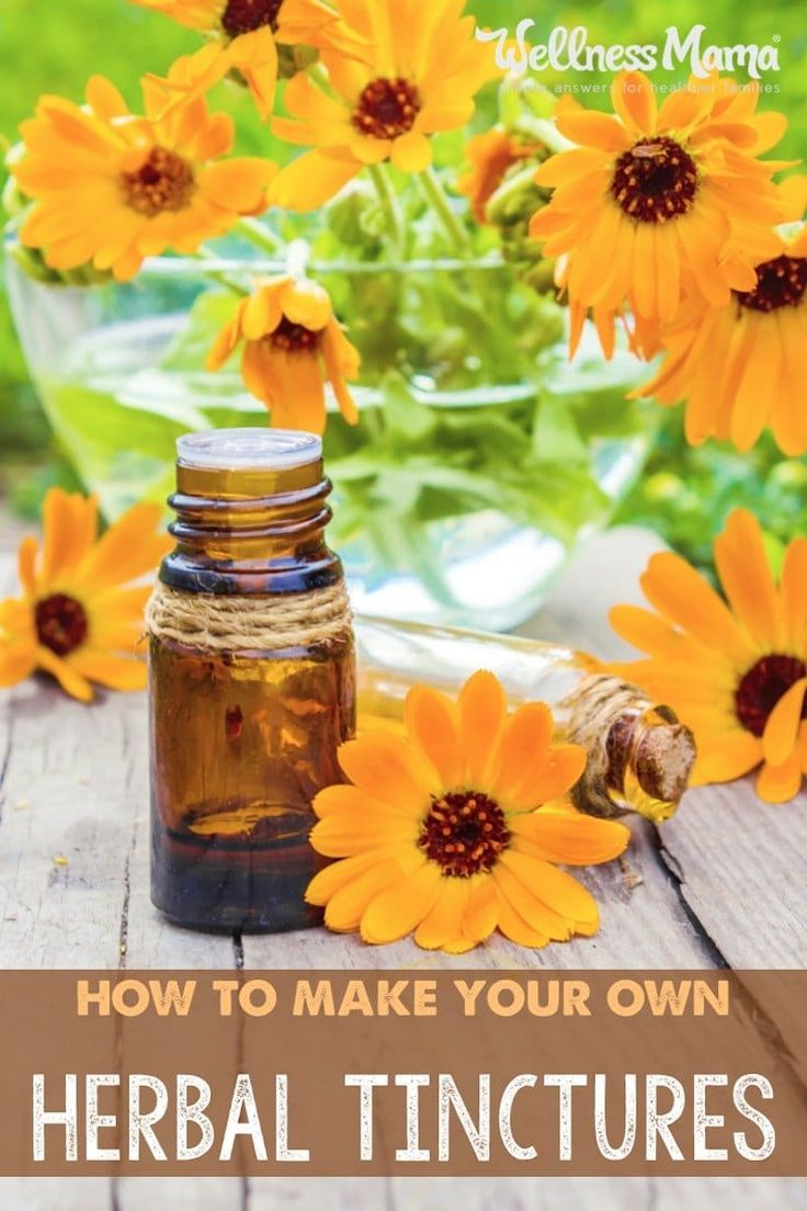 Herbal tinctures made from dried herbs are a great way to preserve and concentrate the benefits of the herbs. They are inexpensive to make and last for years!