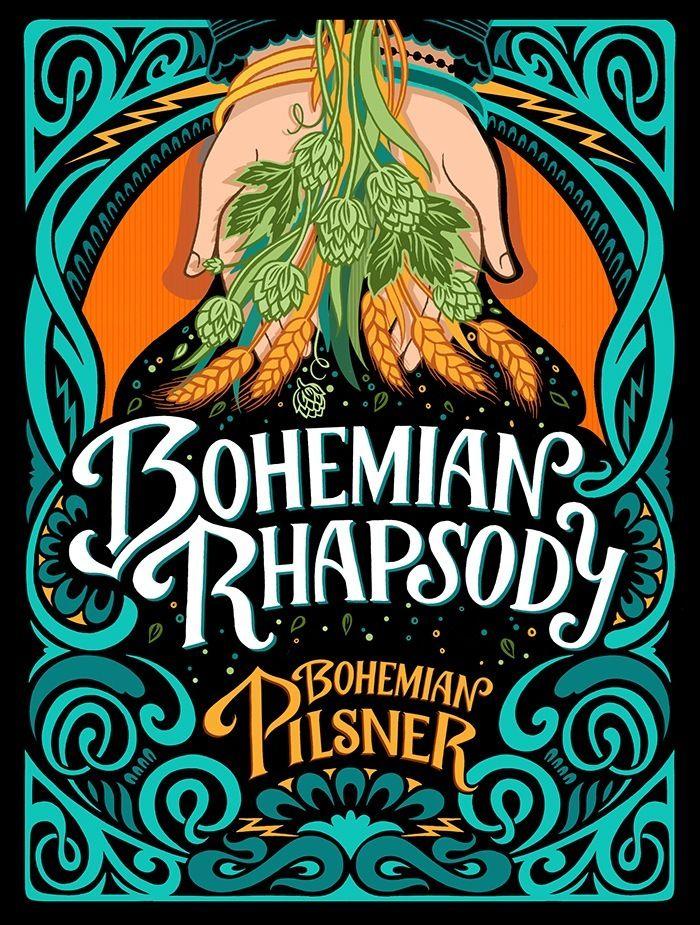Bohemian Rhapsody Beer Label