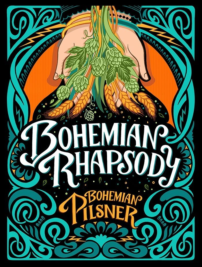 Bohemian Rhapsody Beer Label