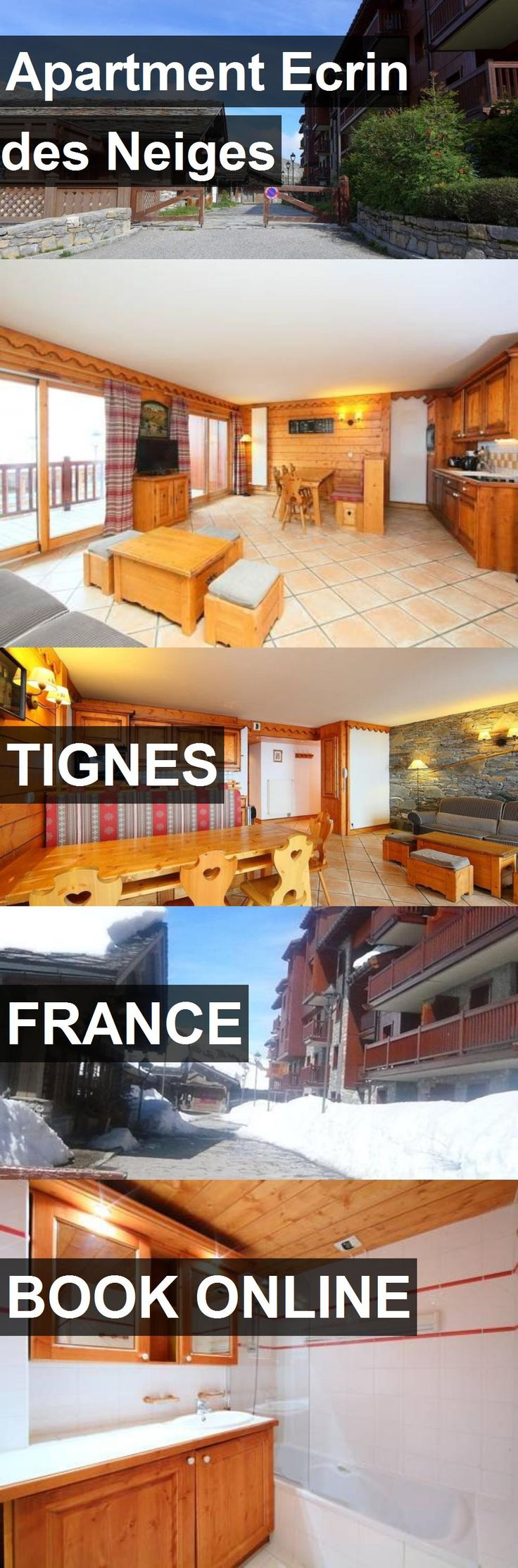 Apartment Ecrin des Neiges in Tignes, France. For more information, photos, reviews and best prices please follow the link. #France #Tignes #travel #vacation #apartment