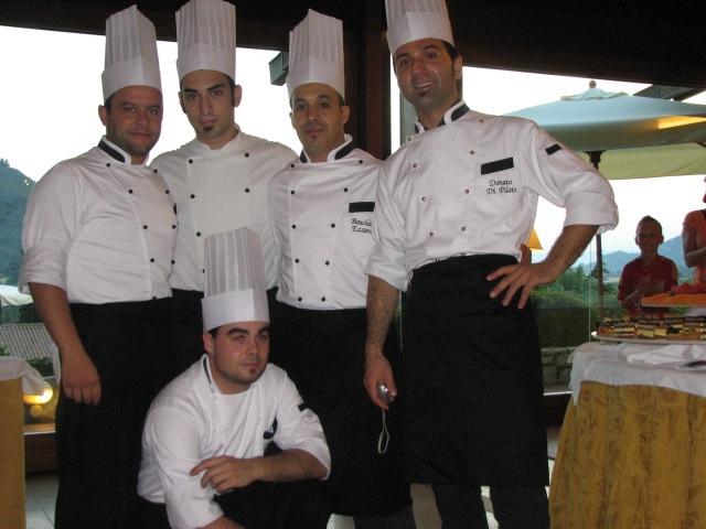 The kitchen staff...