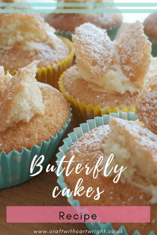 Butterfly cakes are the classic tea time treat and you know I do love a bit of cake with a cup of tea. Kids love to bake them as well as eat them, so it's worth donning your pinnies and baking a batch of these delightful cakes today.