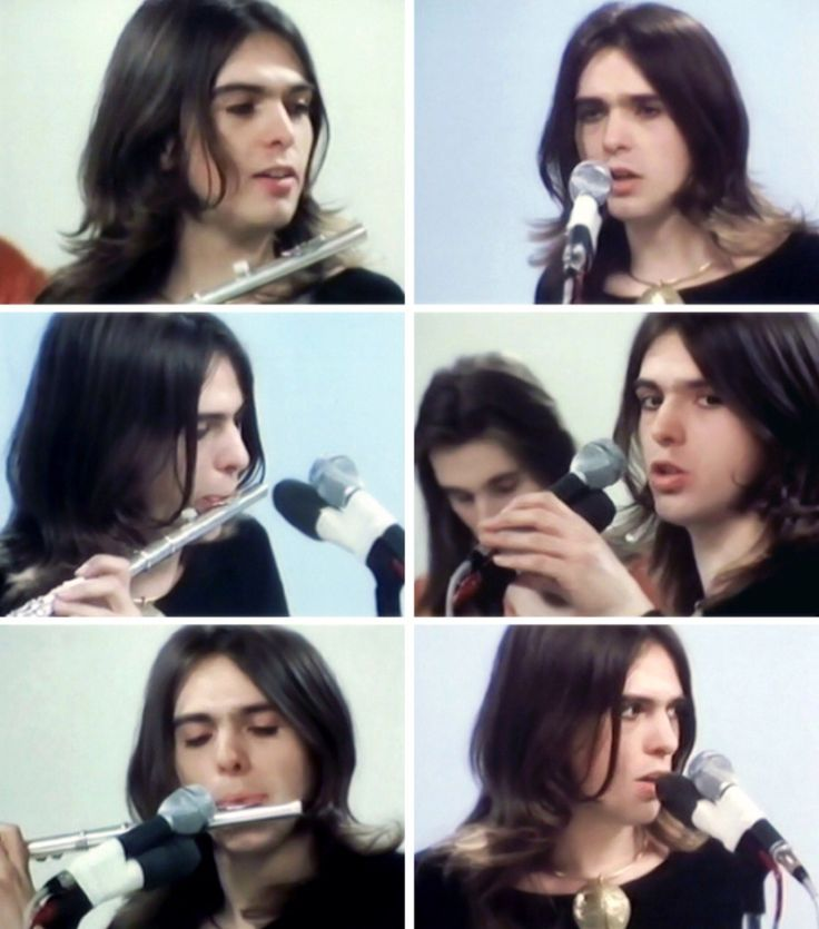 As pretty as a flower and a sunset, 22-year-old Peter Gabriel.