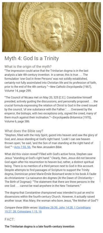 """""""Christian"""" teachings actually not taught in the Bible....Myth 4 ..... check the facts"""