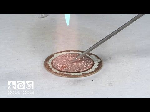 Soldering Technique - Joining Textured Metal - YouTube