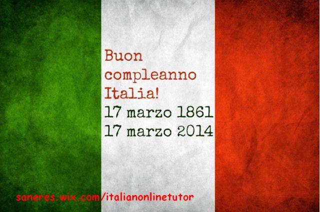 Buon compleanno Italia! Il 17 marzo 1861, esattamente 153 anni fa, si completava il processo dell'unificazione italiana, culmine del Risorgimento.