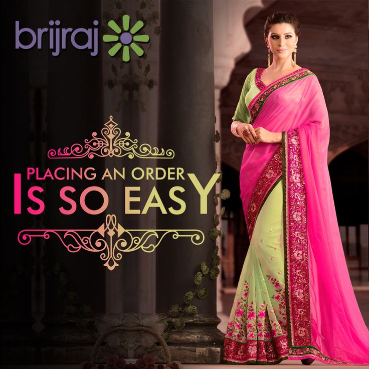 #Quick & #easy to #choose the #products of your #choice & #placing an #order! www.brijraj.com #Brijraj #IndianWear #EthnicWear