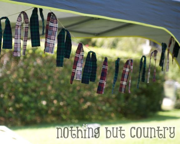 Garland Decorations - Clans - Brave Party @ http://www.nothingbutcountry.com