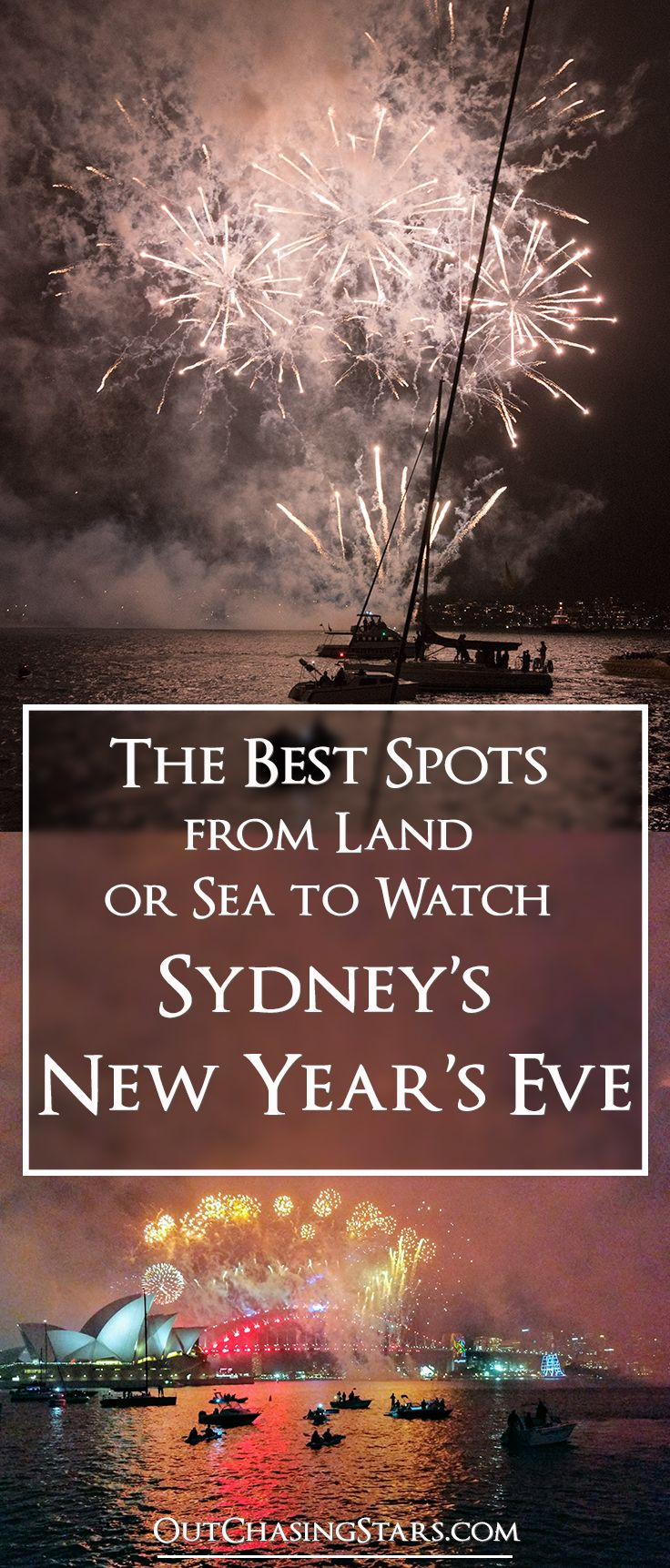 We get the best view of the New Year's Eve Sydney show. Here's how you can get the best view too!