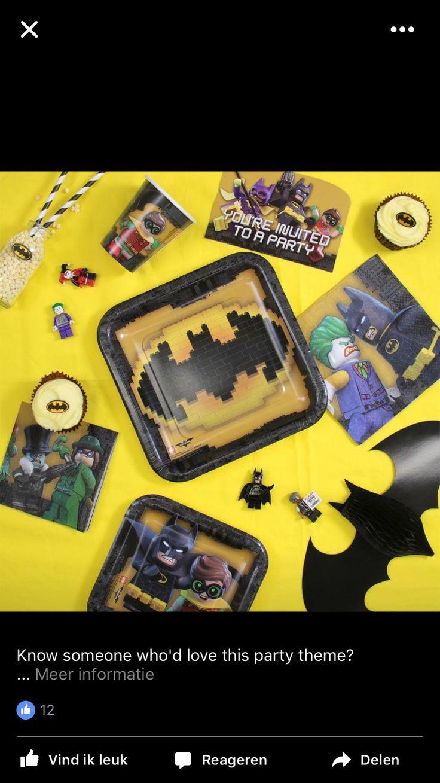 Lego Batman feestartikelen - j-style-deco.nl