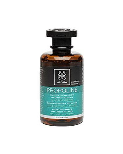 Apivita Propoline Shampoo for Oily Hair with Propolis and Rosemary 250ml / 8.5 oz * You can find out more details at the link of the image.