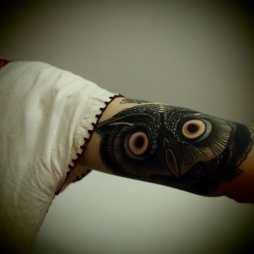Owl Tattoos #Owl #Tattoos