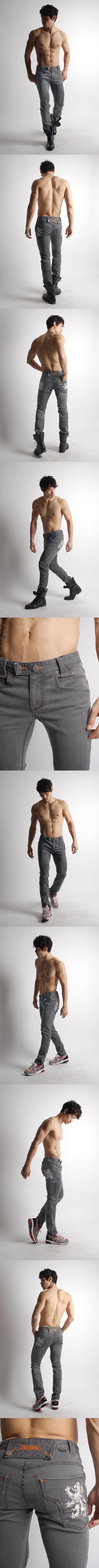 GB Grey Jeans ($155.05 USD)