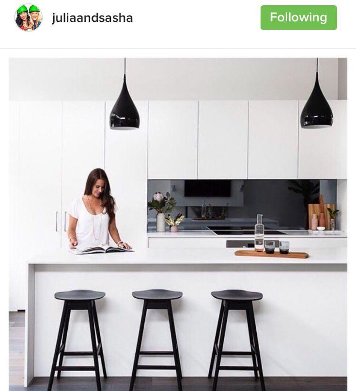 White Kitchen Dark Splashback: Best 20+ Mirror Backsplash Ideas On Pinterest