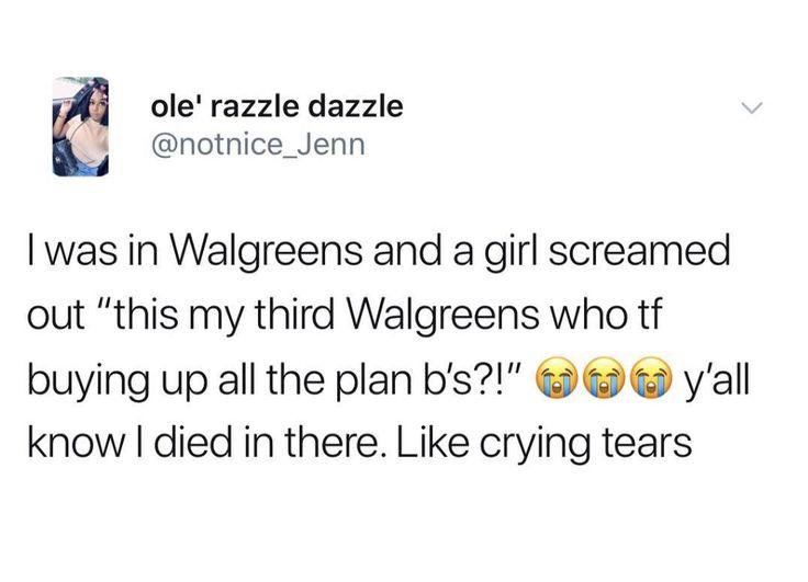 Crying tears haha