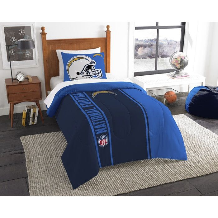 Use this Exclusive coupon code: PINFIVE to receive an additional 5% off the San Diego Chargers NFL Twin Comforter Set at SportsFansPlus.com