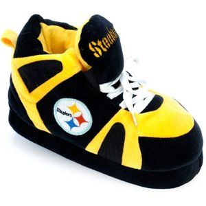 Comfy Feet NFL Sneaker Boot Slippers - Pittsburgh Steelers I want.