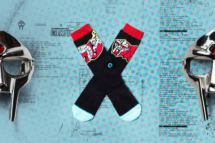 Stance x MF DOOM Unveil Sock Collection | Sidewalk Hustle