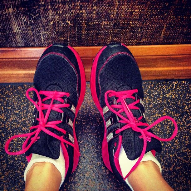 This motivated guest is about to get her work out on! Do you take advantage of our fitness centers when you're staying with us?
