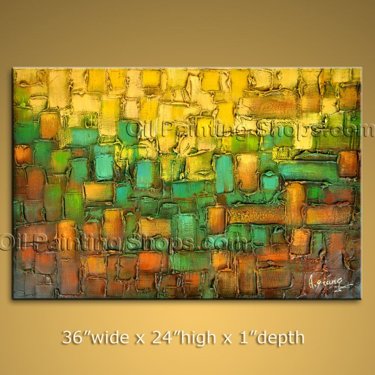 1885 best Large Modern Canvas Wall Art Abstract Paintings from ...