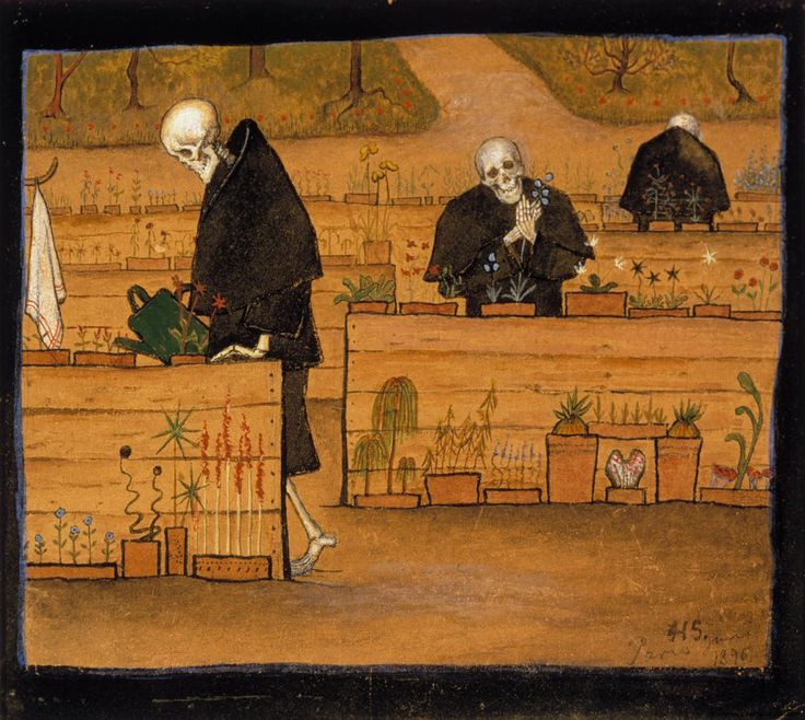 Finnish National Gallery - Art Collections - The Garden of Death
