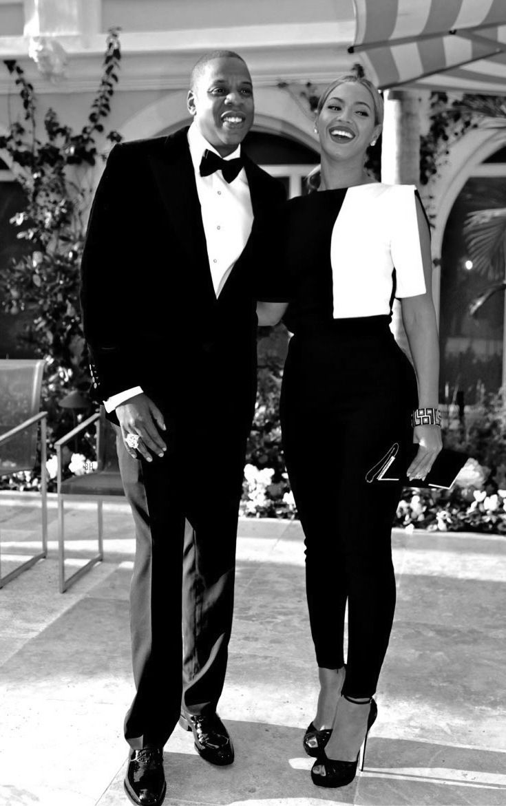 Although movies portray great couples...the truth is...the realistic couples we have today who are successful and driven together. Some would hate to admit...this is one of those great  powerful couples.