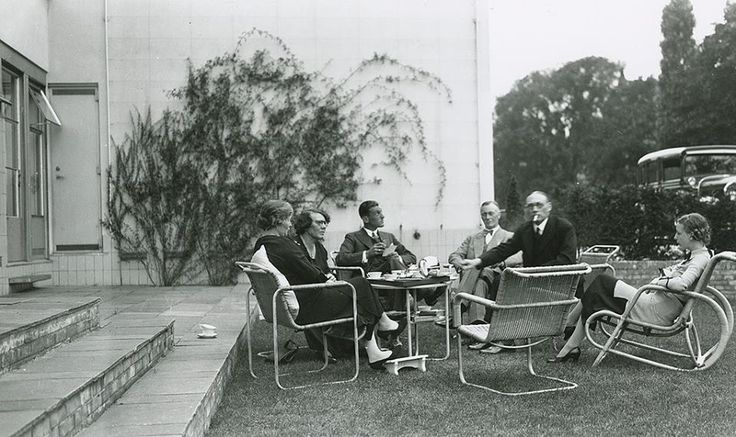 J.A. Brinkman and L.C. van der Vlugt...  Sonneveld House, Rotterdam, The Netherlands...1930s