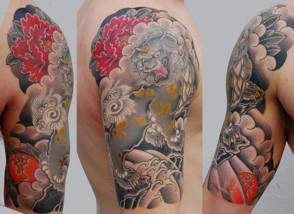 fine details asian tattoo