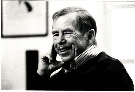 Václav Havel (5 October 1936 – 18 December 2011)  The former President of Czechoslovakia, the first President of the Czech Republic, and also a writer and dramatist. In 1989, he was an important figure of the Velvet Revolution. At the end of that same year, Vaclav Havel was chosen to be the ninth and last President of Czechoslovakia, serving his term until 1992. Havel was elected Czech's first President, and re-elected in 1998 for another 5 years.