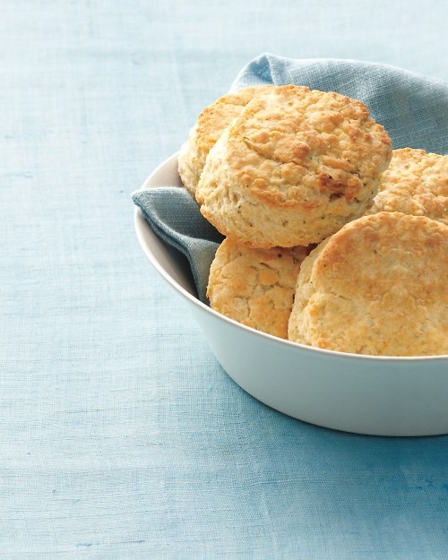 Chive-Cheddar Biscuits Recipe — Dishmaps