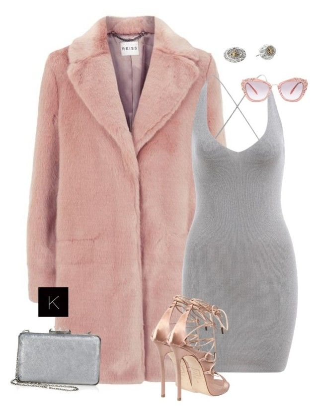 """Untitled #4000"" by kimberlythestylist ❤ liked on Polyvore featuring Reiss, Dsquared2, Judith Leiber, Vivienne Westwood and Miu Miu"