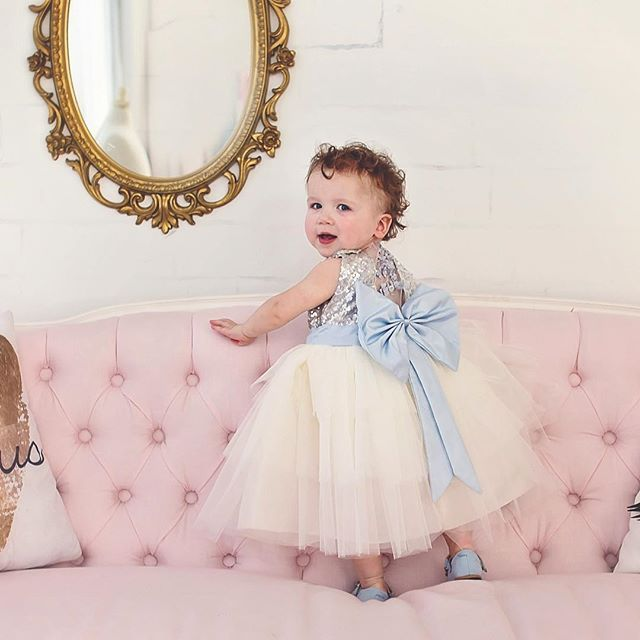 """Princess Hailey Dress in Blue   To order: ittybittytoes.com (search """"Hailey"""")"""