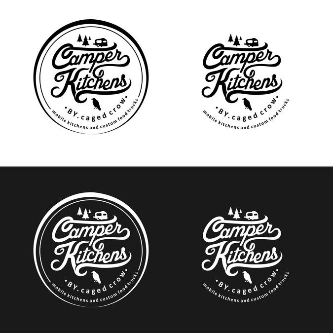 Create a vintage style logo for a custom food truck builder. by hOOPed creative ™