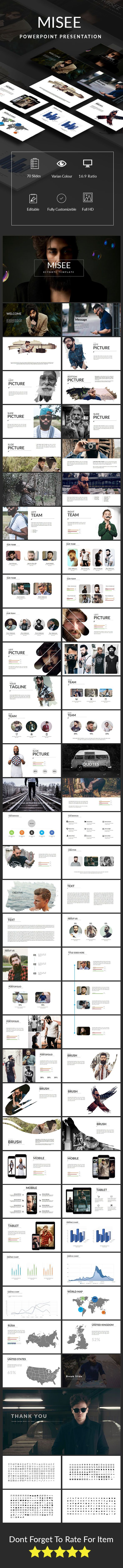 Misee Keynote Presentation Template