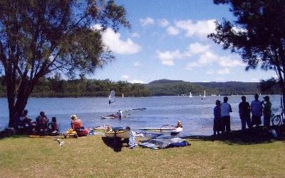Narrabeen Lake in #sydneylove