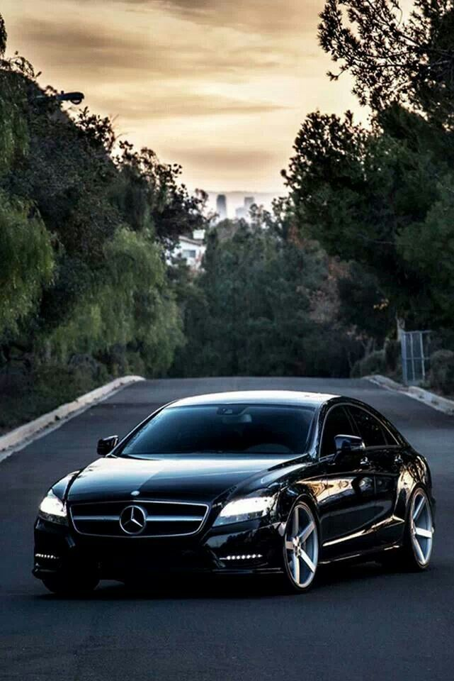 Mercedes CLS. My favorite Mercedes.........other than the new S model lol