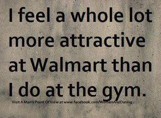 Just said this tonight while we were at Walmart!