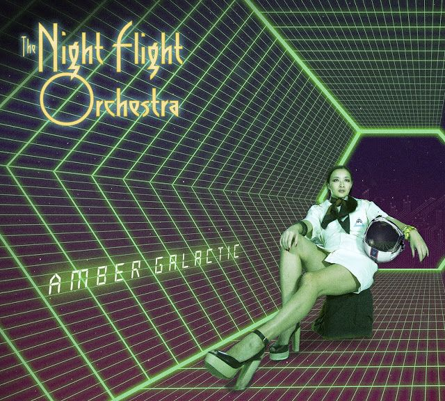 "Heavy Metal Music & More  : The Night Flight Orchestra ""Amber Galactic"" [Recen..."