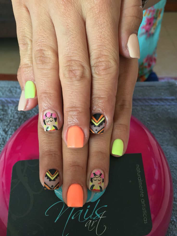 Best 25 Colored acrylic nails ideas on Pinterest