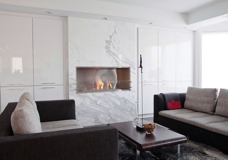 EcoSmart Fire 1200SS fireplace featured in Private Residence, Toronto,  Canada // endless possibilities | Katz Residence | Pinterest | Canada, ... - EcoSmart Fire 1200SS Fireplace Featured In Private Residence