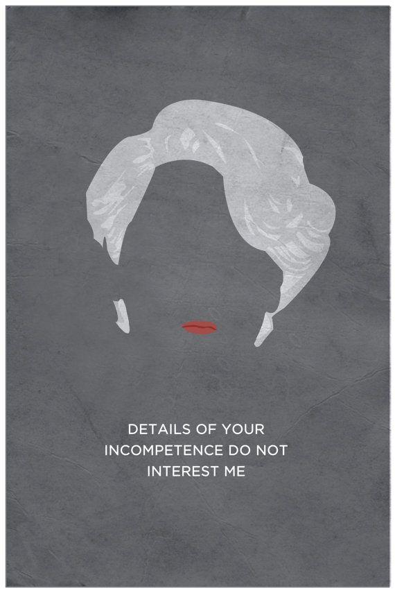 The Devil Wears Prada Minimalist Poster by DJonesPosters on Etsy