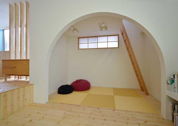 白とパインの床材で作った家・間取り(埼玉県さいたま市) | 注文住宅なら建築設計事務所 フリーダムアーキテクツデザイン