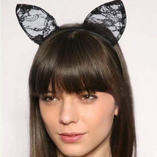 Новая сексуальная женщина женщины девушка кошачьи уши Hairband косплей необычные повязка на голову хэллоуин бесплатная доставка купить на AliExpress