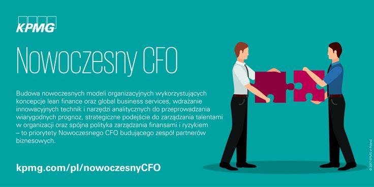 Priorytety Nowoczesnego CFO budującego zespół partnerów biznesowych