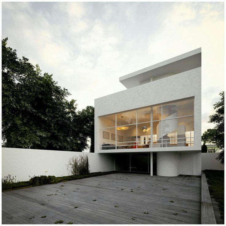 Casa victoria ocampo le corbusier fca iiid art pinterest best le corbusier ideas - Le corbusier casas ...