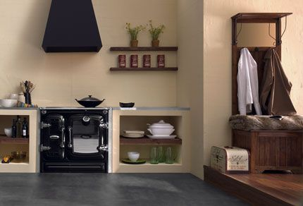 cocinas rusticas de obra   Decorar tu casa es facilisimo.com